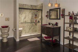 Harwood Shower Remodel new shower install 300x200
